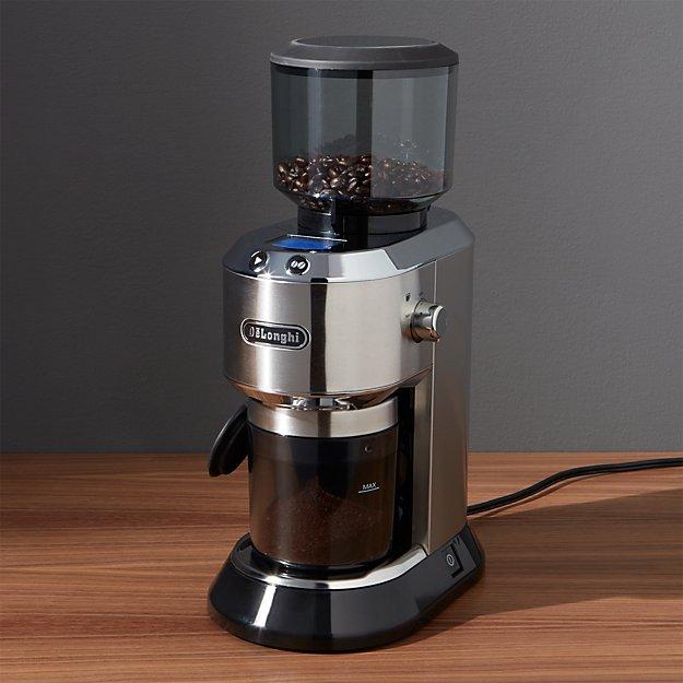 Delonghi Burr Coffee Grinder Crate And Barrel