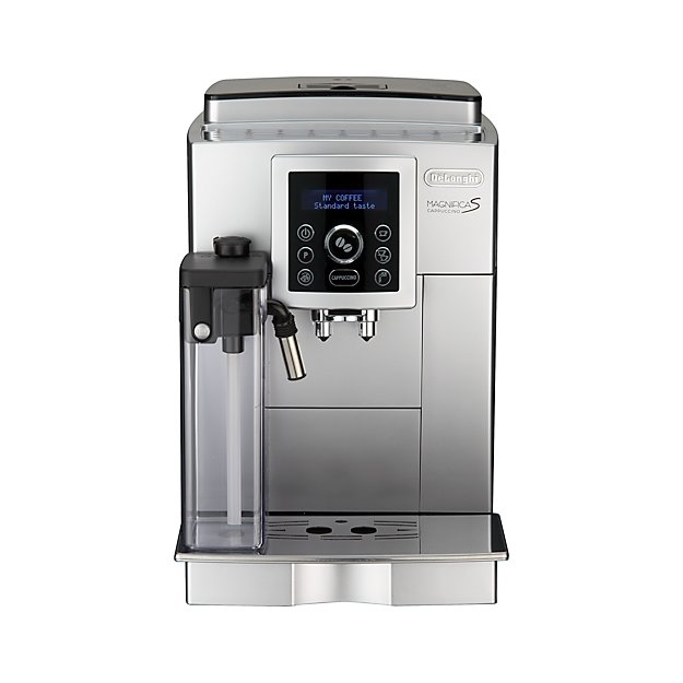 delonghi digital super automatic espresso machine with. Black Bedroom Furniture Sets. Home Design Ideas