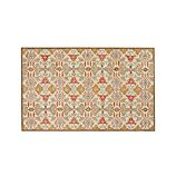Delphine Orange 5'x8' Rug