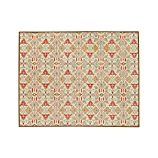 Delphine Orange Wool 8'x10' Rug