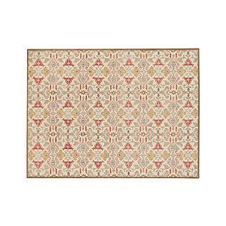 Delphine Orange Wool 9'x12' Rug