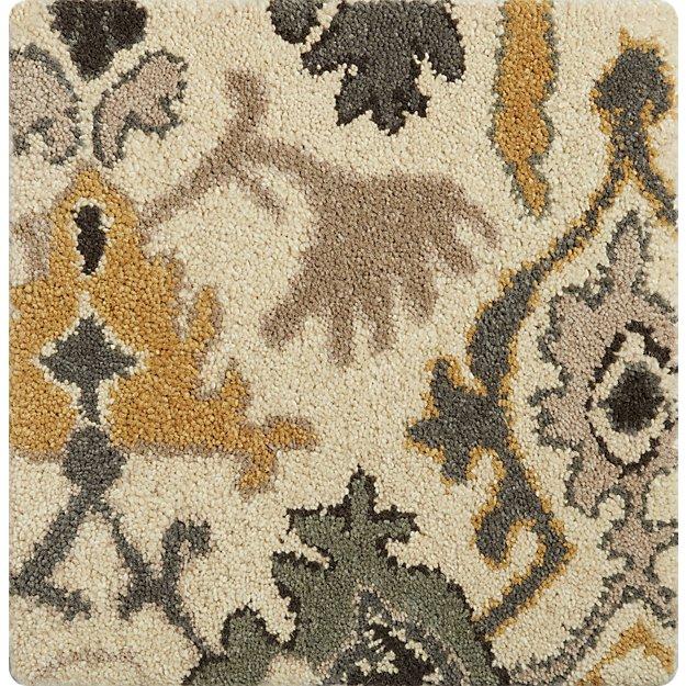 """Delphine Sage Wool 12"""" sq. Rug Swatch"""