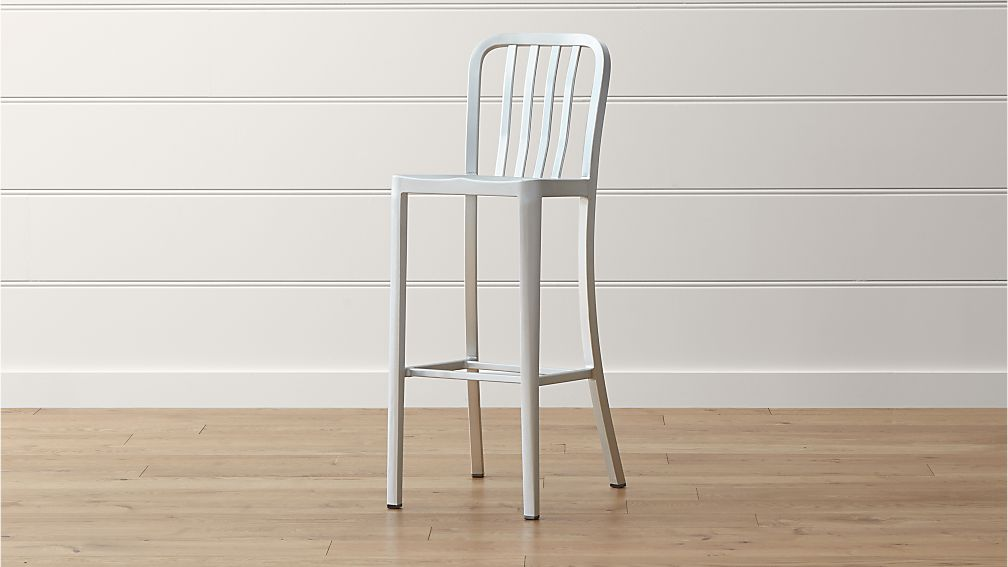 Delta Aluminum Bar Stool Crate And Barrel