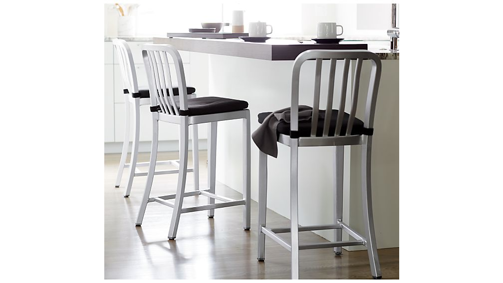 Delta Aluminum Counter Stool Crate And Barrel