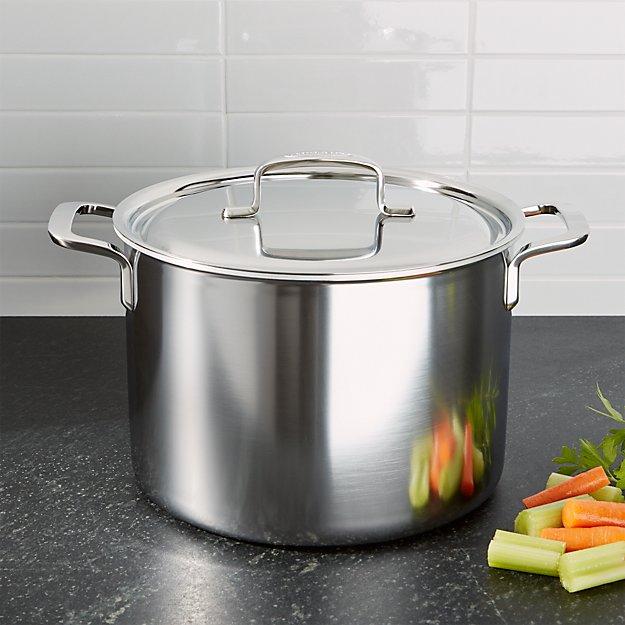 ZWILLING ® Demeyere 5-Plus Stainless Steel 8-Qt. Stock Pot