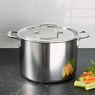 ZWILLING ® Demeyere 5-Plus Stainless Steel 8-Qt. Stock Pot