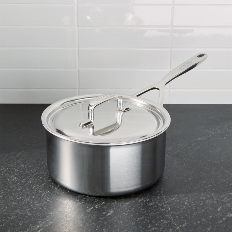 ZWILLING ® Demeyere 5-Plus Stainless Steel 3-Qt. Sauce Pan