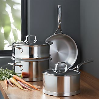 ZWILLING ® Demeyere Atlantis Proline Stainless Steel 6-Piece Cookware Set