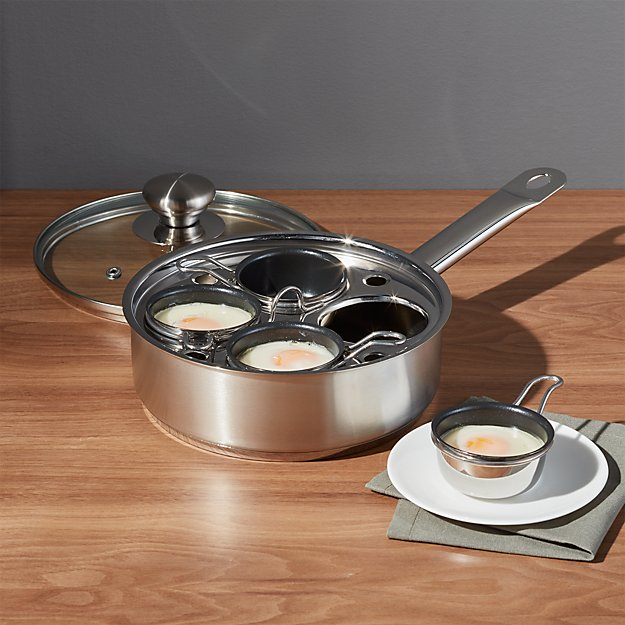 Zwilling 174 Demeyere Resto 4 Cup Stainless Steel Egg