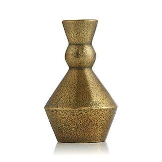 Denby Medium Antique Brass Taper Candle Holder