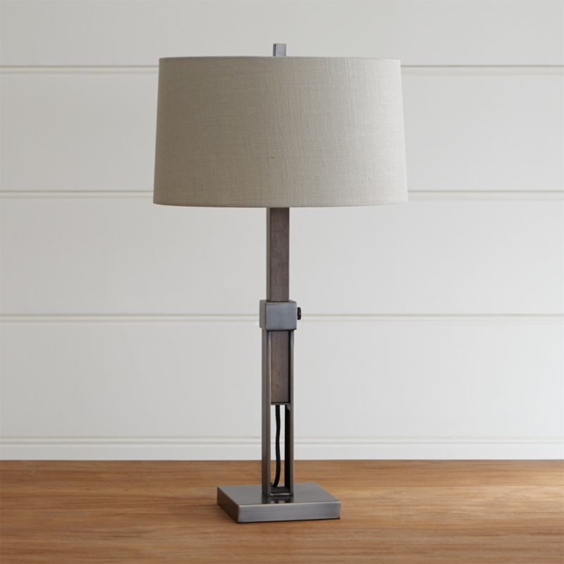 Denley Bronze Table Lamp Crate And Barrel