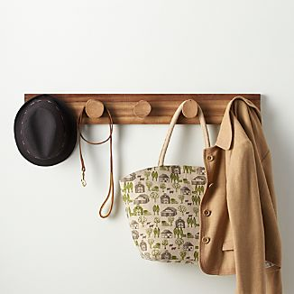 Denton Wall Mounted Coat Rack