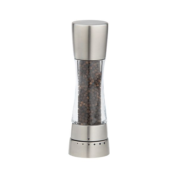 Cole & Mason Derwent Stainless Steel Adjustable Pepper Mill