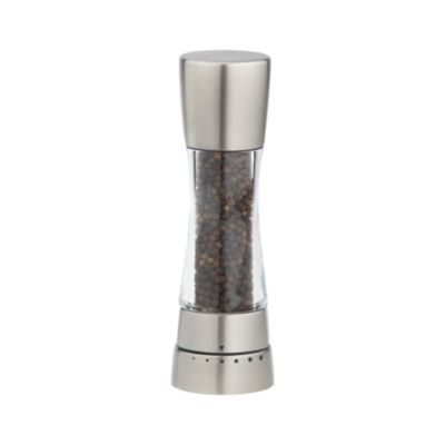 Derwent Stainless Steel Adjustable Pepper Mill