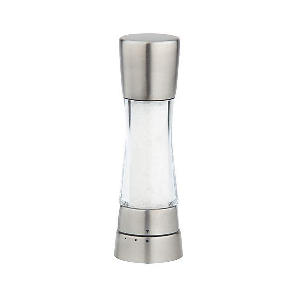 Cole & Mason ® Derwent Stainless Steel Adjustable Salt Mill