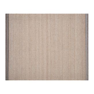 Desi Latte Brown 8x10 Rug