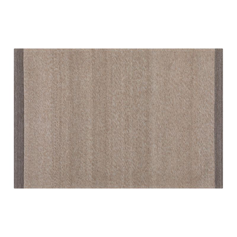 Desi Latte Brown 4x6 Rug