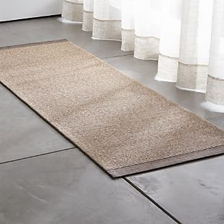 Desi Latte Brown Rug Runner