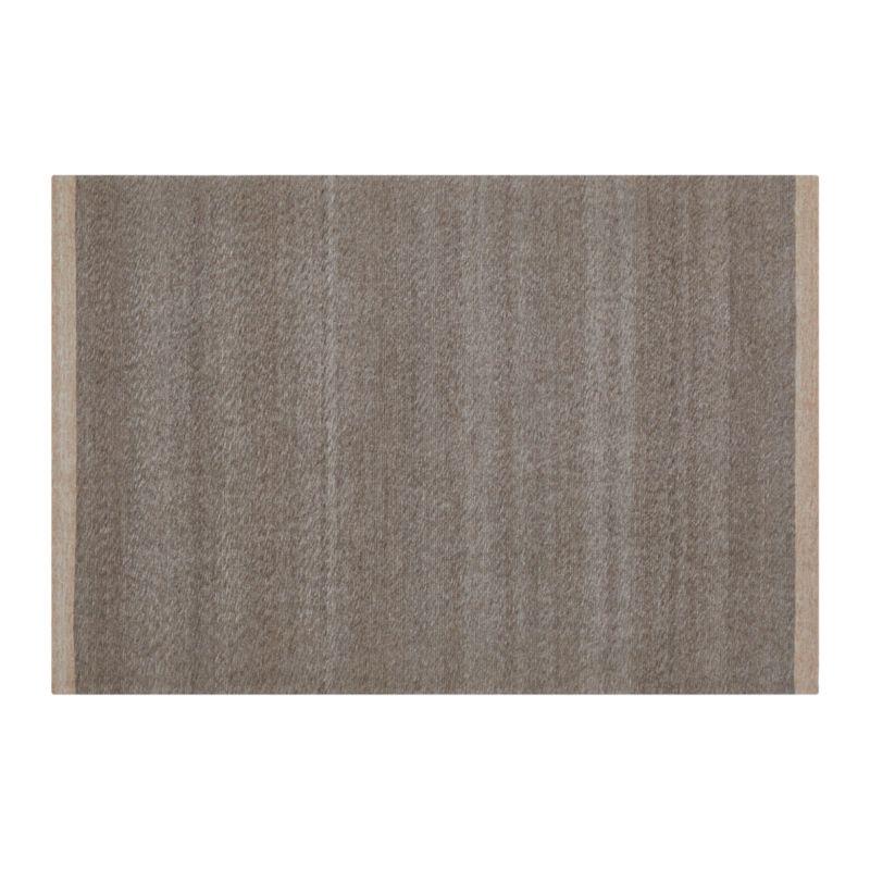 Desi Mocha Brown-Grey 6'x9' Rug