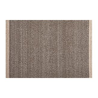 Desi Mocha Brown-Grey 4'x6' Rug