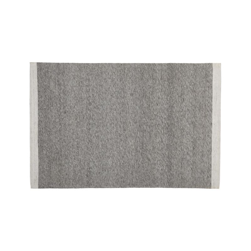 Desi Smoke Grey 4'x6' Rug