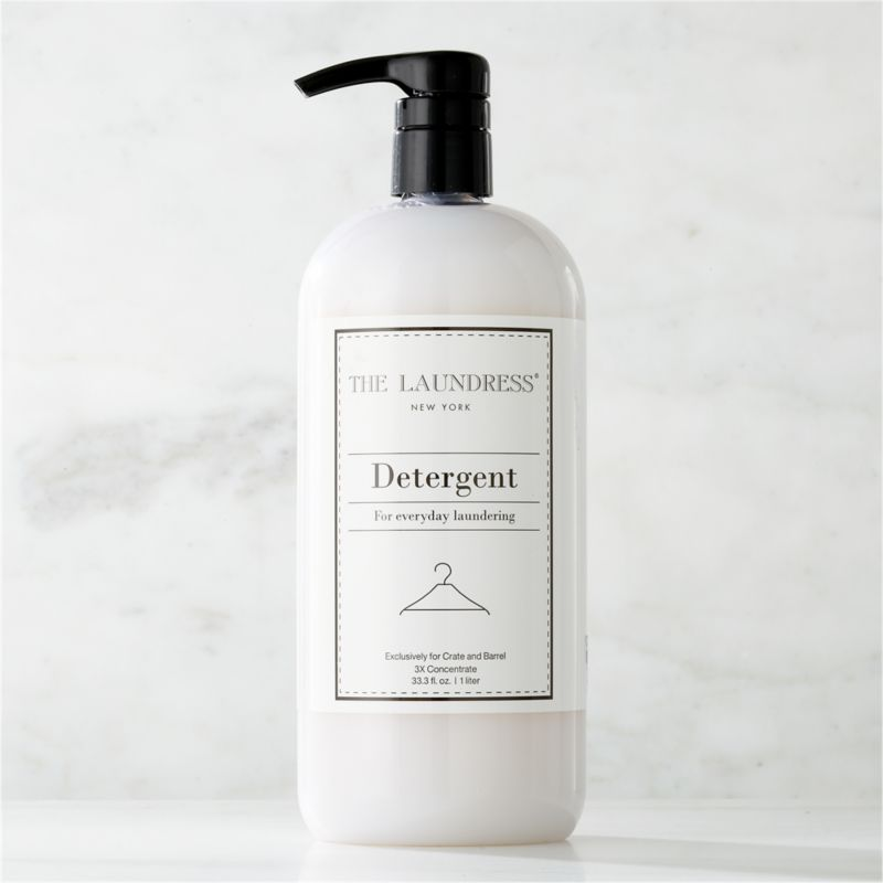 Take a new view of laundry day with our exclusive cleaning solutions from the experts at The Laundress®. Formulated just for Clean Slate™, this ultra-gentle, eco-friendly detergent is subtly infused with the scent of lavender. Just two pumps per load of this triple-concentrated detergent with natural brightener extends the life of your wardrobe by keeping colors bright and whites white. Effective in all types of washing machines (or for hand laundry) at all temperature settings, the plant-based formula is 100% biodegradable, non-toxic and free of allergens, artificial colors or dyes, making it a kind choice for both the environment and sensitive skin.<br /><br />The Laundress® was dreamt up by two graduates from Cornell University's Fiber Science, Textile and Apparel Management and Design program. Frustrated with the financial and environmental cost of dry cleaning, the pair researched and developed eco-conscious formulas designed to properly care for every item in your closet.<br /><br /><NEWTAG/><ul><li>Formulated exclusively for Clean Slate™ by The Laundress®</li><li>Color-safe detergent is effective at all temperature settings in all types of washing machines or for hand laundry</li><li>Plant-based formula is 100% biodegradable, non-toxic and allergen-free with no artificial colors or dyes</li><li>Subtly scented with lavender</li><li>Triple-concentrated</li><li>Plastic container is BPA-free</li><li>Made in USA</li></ul>