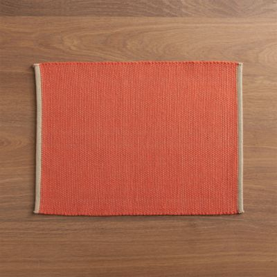Diablo Orange Placemat