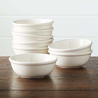 Set of 8 Dinette Cereal Bowls