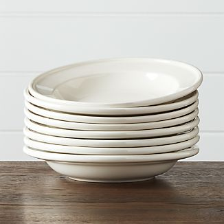 Set of 8 Dinette Low Bowls