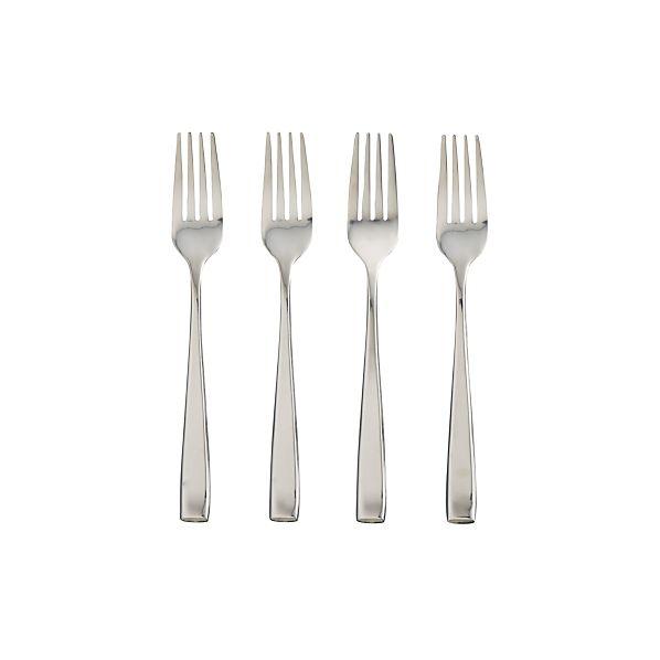 Set of 4 Dinner Forks