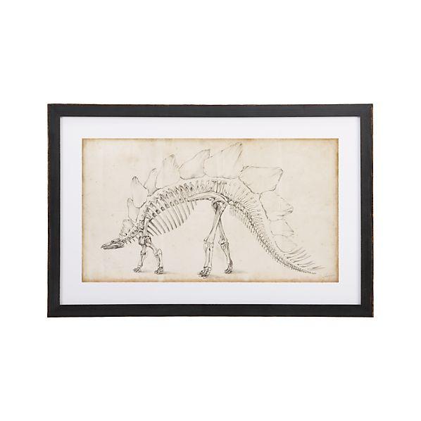 Dinosaur Study III Print