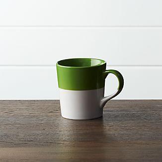 Green Dip Mug