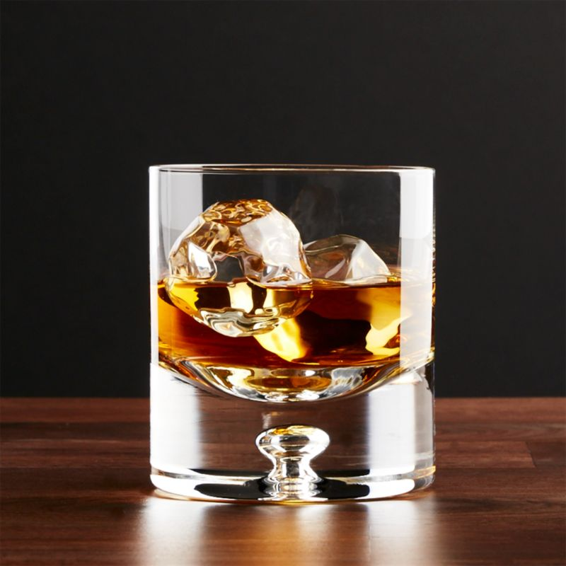 Direction 9 Oz Double Old Fashioned Glass Crate And Barrel