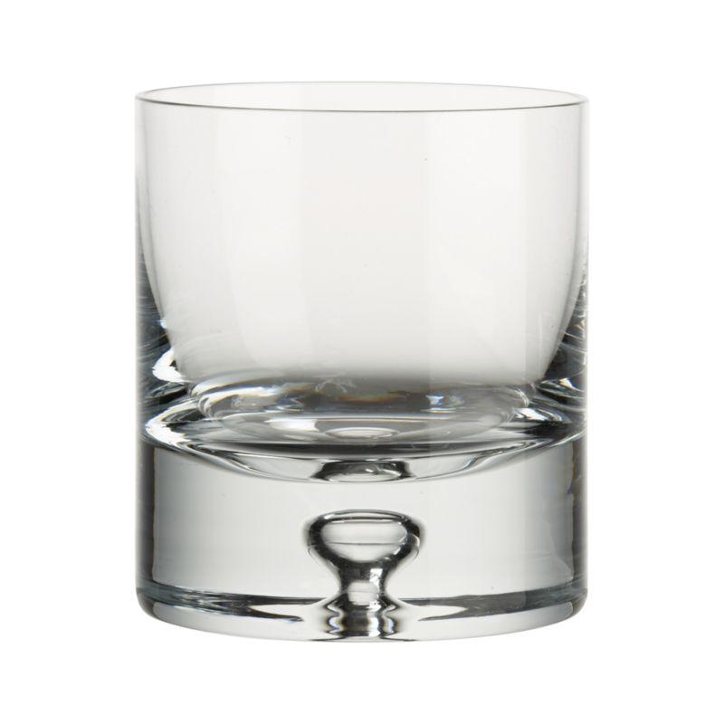 Our most popular barware collection. Sleek, cylindrical shape with a signature open bubble in the hefty sham base.<br /><br /><NEWTAG/><ul><li>Handmade</li><li>Exceptionally clear glass</li><li>Cut and polished rim</li><li>Hand wash recommended</li><li>Made in Poland</li></ul>