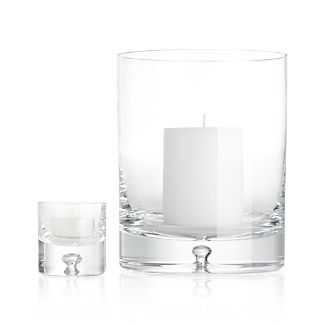 Direction Glass Candle Holders