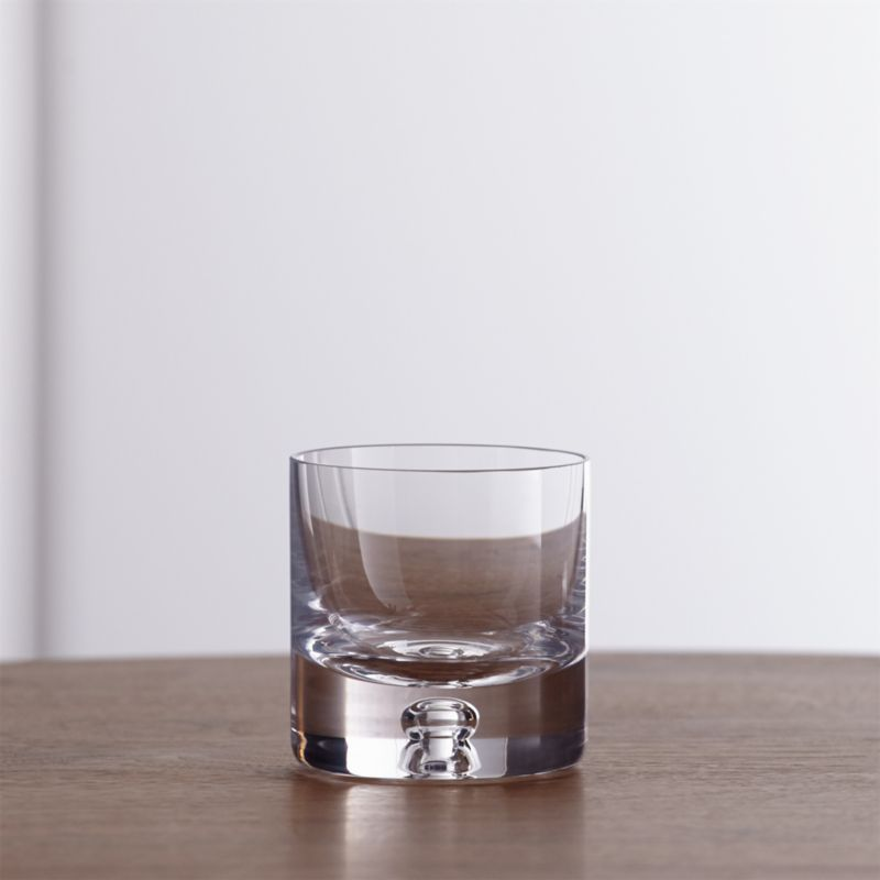 Direction Glass Tea Light Candle Holder