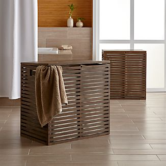Dixon Bamboo Hampers with Liner