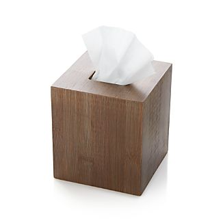 Dixon Bamboo Tissue Box Cover