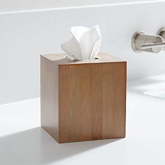 Dixon Bamboo Tissue Box Cover