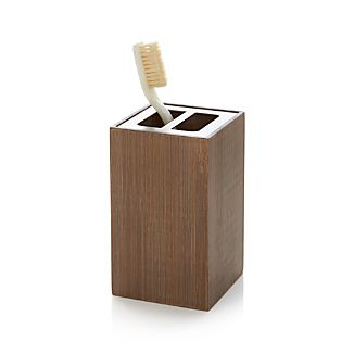 Dixon Bamboo Toothbrush Holder
