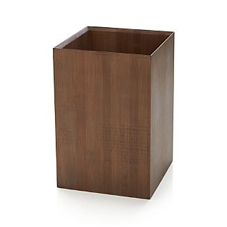 Dixon Bamboo Trash Can