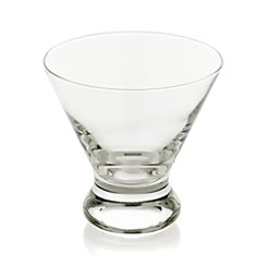 Dizzy Double Old-Fashioned Glass