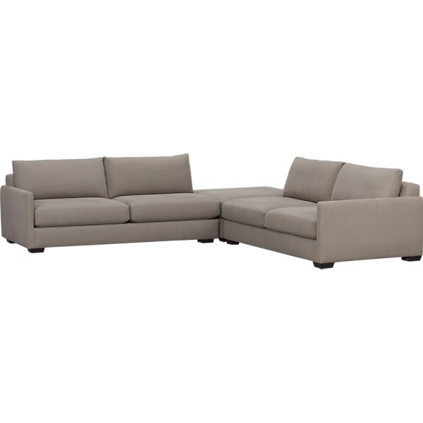 Domino 3-Piece Sofa Sectional