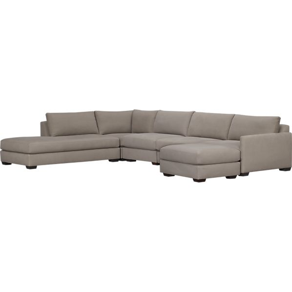 Domino 5-Piece Left Arm Sofa Sectional