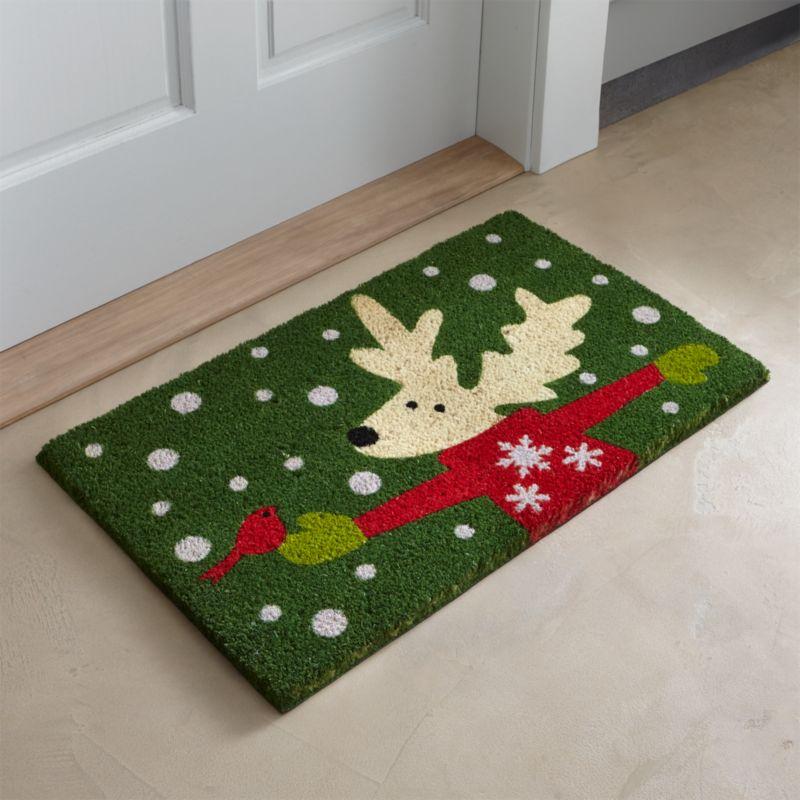 Donner Reindeer Doormat