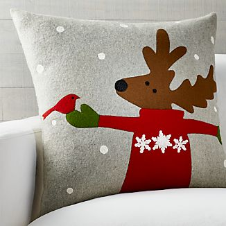 Donner Reindeer Pillow
