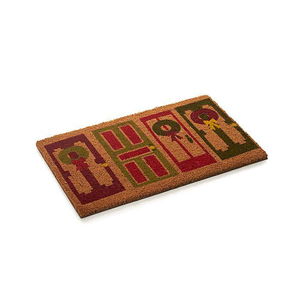 Holiday Doors Doormat