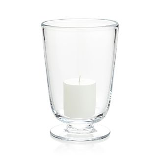 Doria Small Glass Hurricane Candle Holder