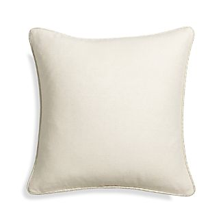 "Dorsay Natural 18"" Pillow"