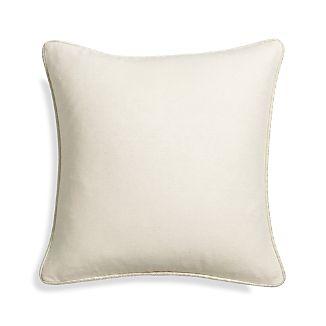"""Dorsay Natural 18"""" Pillow"""